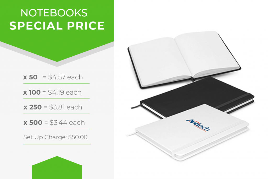 branded notebook sale