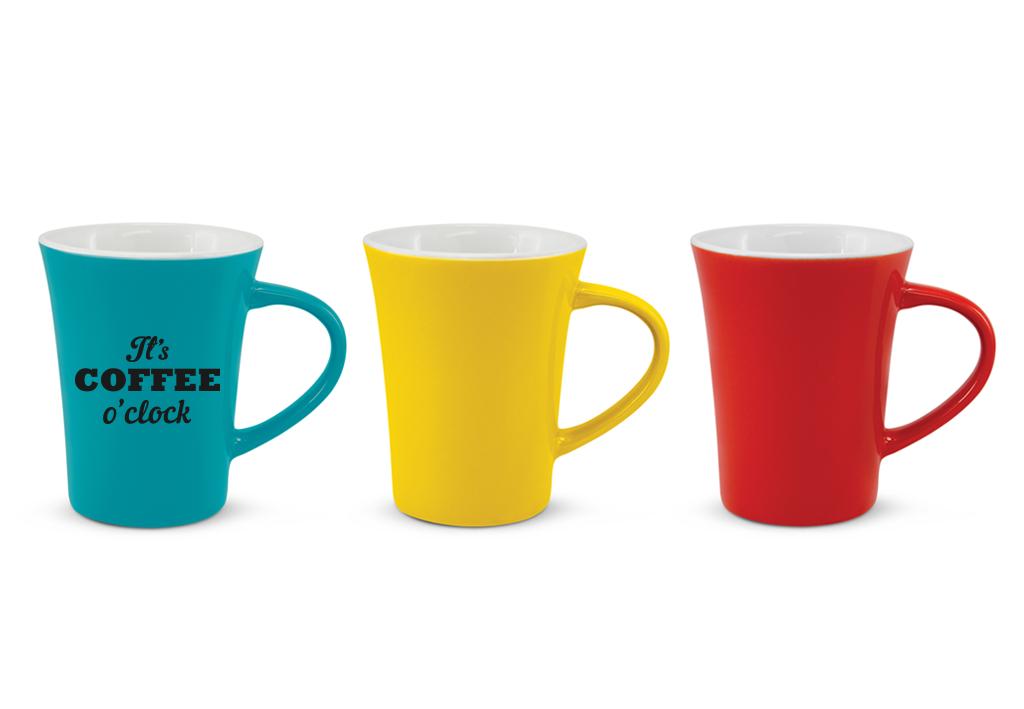 Branded Mugs - ContouredStoneware