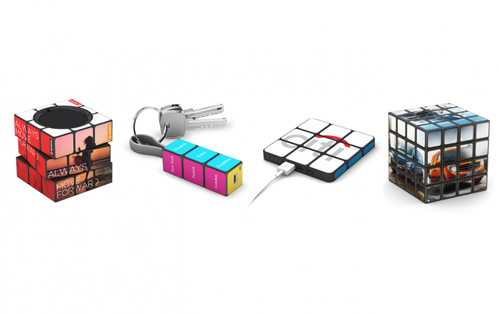 Branded Rubiks Cube NZ