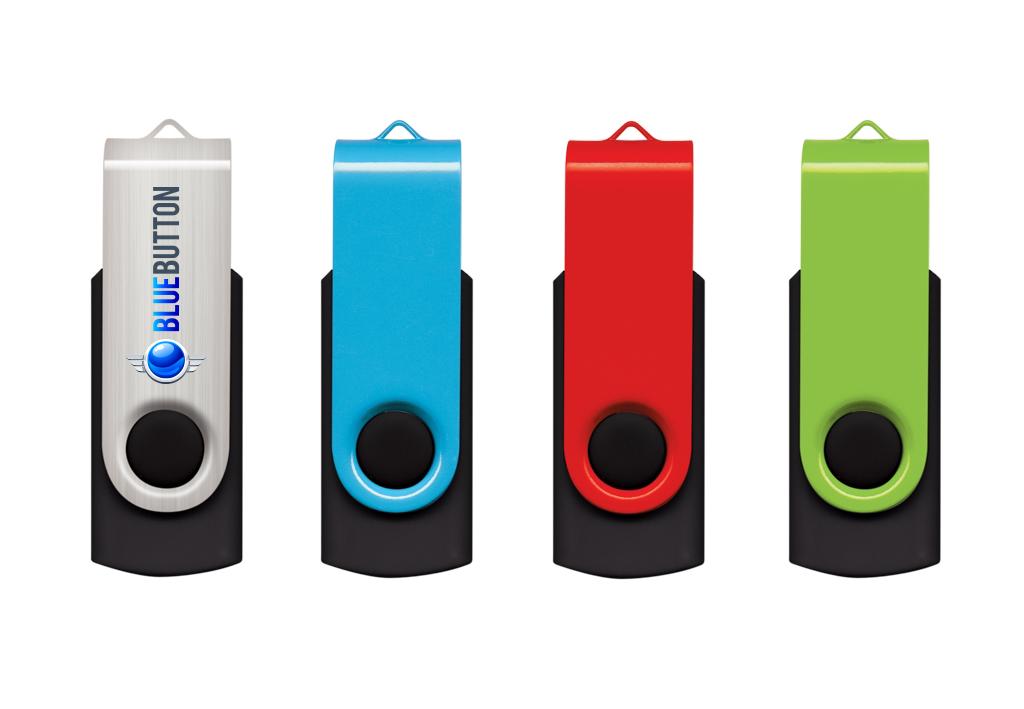 Branded USBs - Swivel
