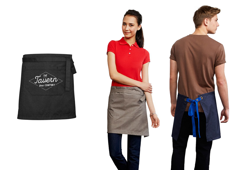 Branded aprons - HalfSize-