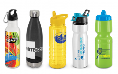 Branded drink bottles NZ
