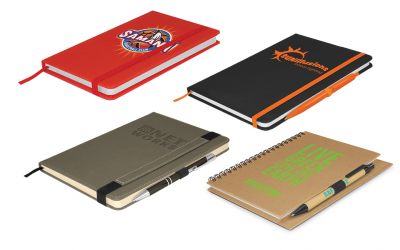 Branded notebooks NZ