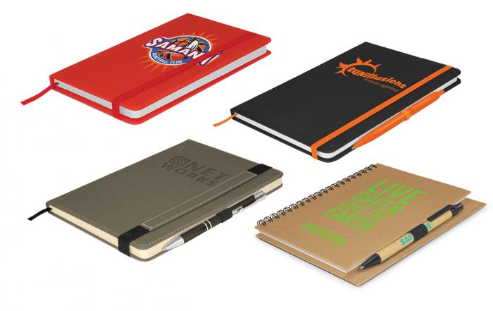 Branded notebooks NZ