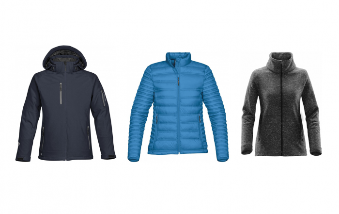 Branded Stormtech Winter Jackets