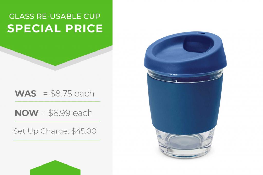 branded reusable mug sale